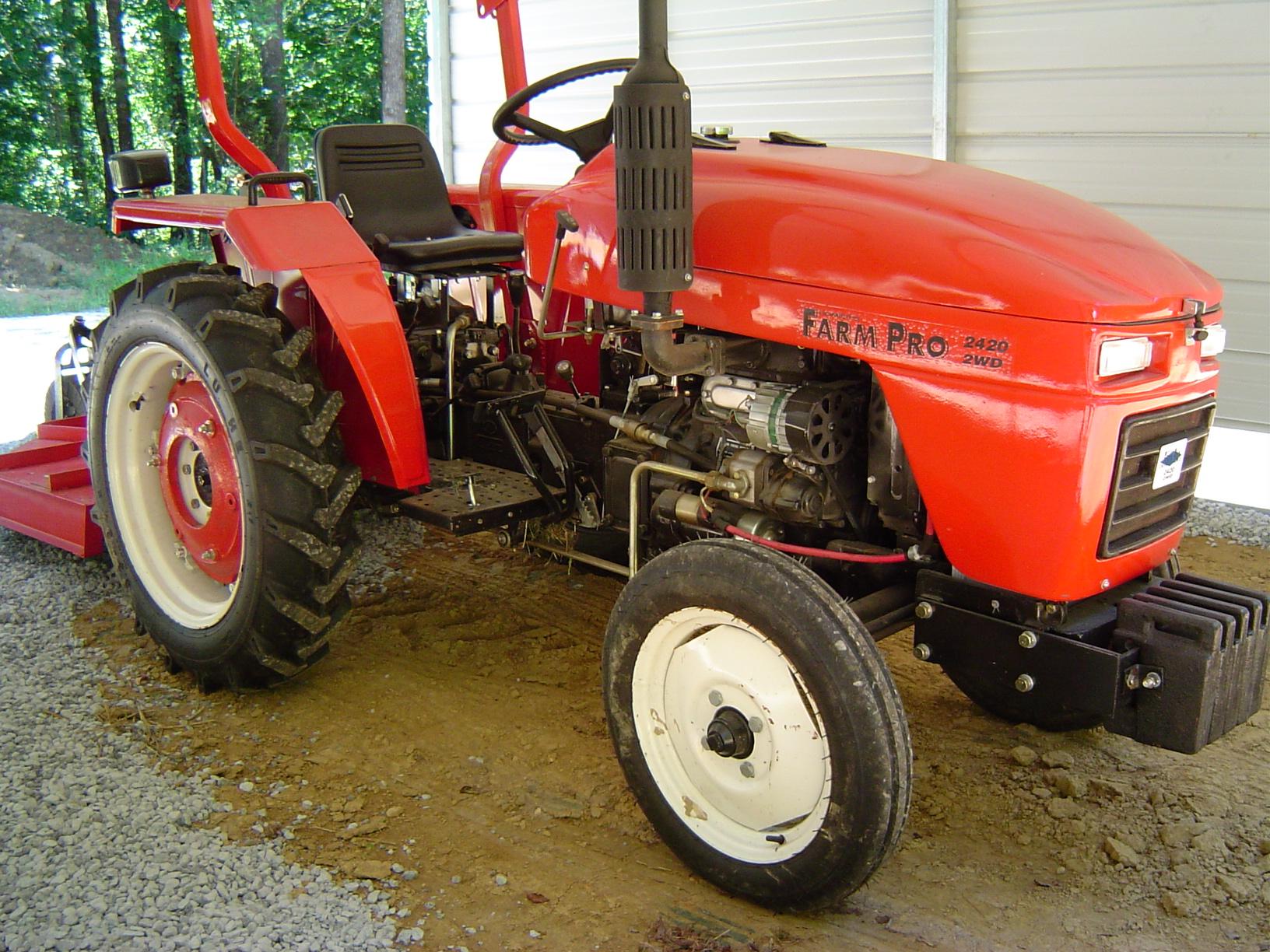 Farm Pro 2420 Farm Pro Tractor Starter Wiring Diagram on